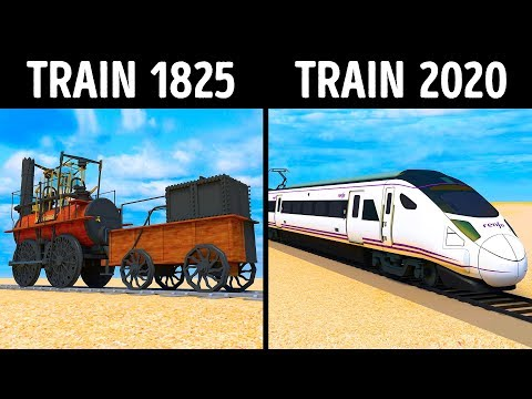 Trains Have Changed Over 200 Years
