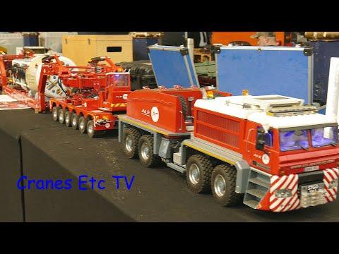 London Model Engineering Exhibition 2020 by Cranes Etc TV