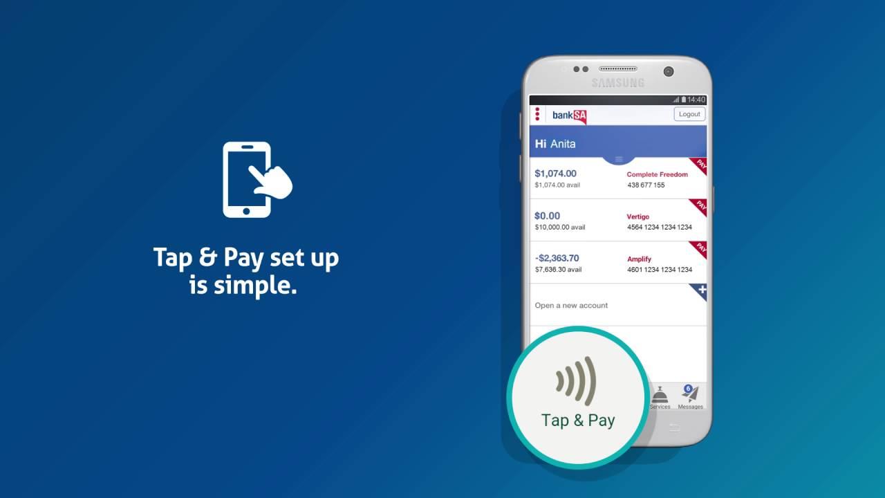 Tap and Pay | BankSA