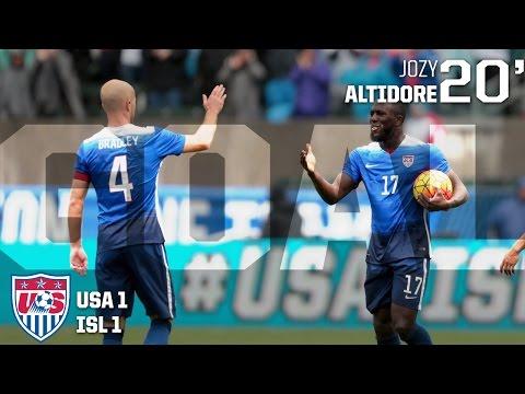 MNT vs. Iceland: Jozy Altidore Goal - Jan. 31, 2016