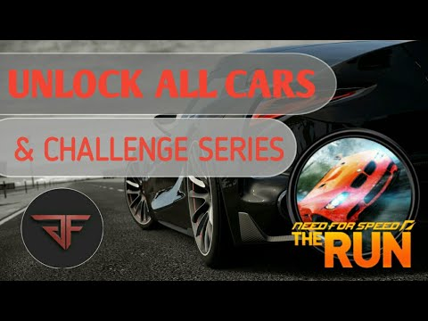 How To Unlock All Cars (Including Limited) And Challenge Series In NFS : The Run    Gadget FreaX   