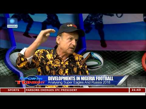 Super Eagles Head Coach Discus Developments In Nigeria Football Pt.3 |Sports Tonight|