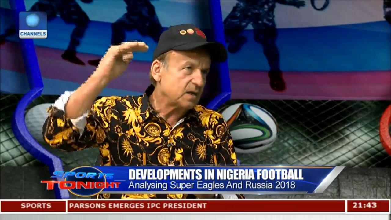 Gernot Rohr Highlights Developments In Nigeria Football Pt.3  Sports Tonight 