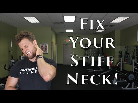 How To FIX a STIFF Neck | Soft Tissue Mobilizations