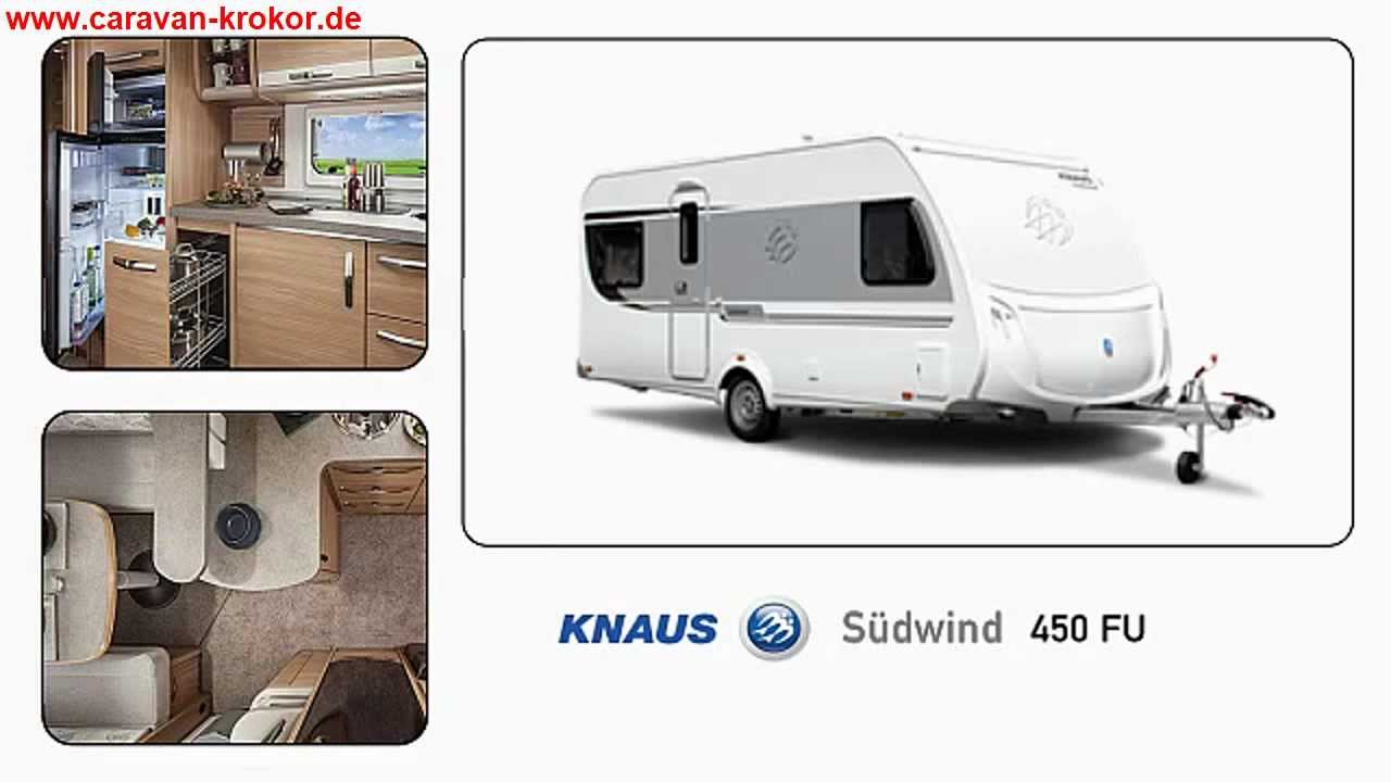 Knaus Südwind 450 FU Modell 2013 - YouTube