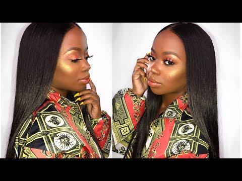 UM RIHANNA GIRL! FULL FACE Fenty Beauty DEMO & Review For Dark Skin