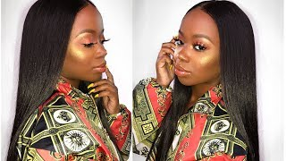 UM RIHANNA GIRL! FULL FACE Fenty Beauty DEMO & Review For Dark Skin