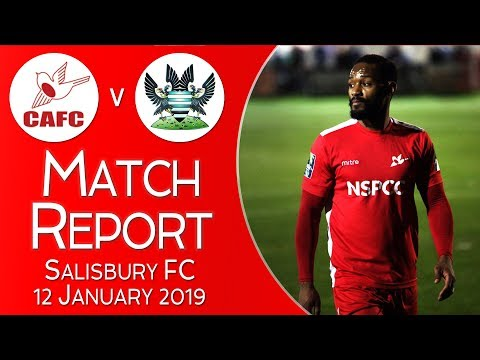 Match Report - FA Trophy - 2nd Round