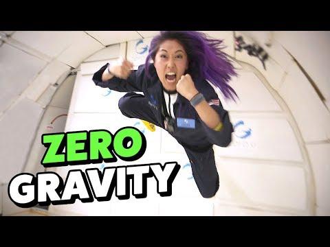 DANCING IN ZERO GRAVITY