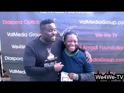 We4We TV COMMUNITY OUTREACH PROGRAMMING - ORANGE PARK, NJ SOCCER GAME BETWEEN NIGERIA AND GHANA