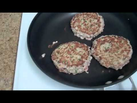 how to make ground turkey burgers
