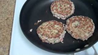 Weight Loss Turkey Burger Recipe