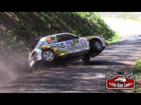 Rallye Lyon Charbonnières 2018 [HD] - Mistakes & Show - RallyeHorsLimites