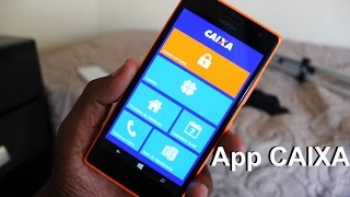 Aplicativo Internet Banking da Caixa para Windows Phone!