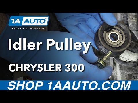 How to Install Replace Idler Pulley 2005-10 3.5L V6 Chrysler 300
