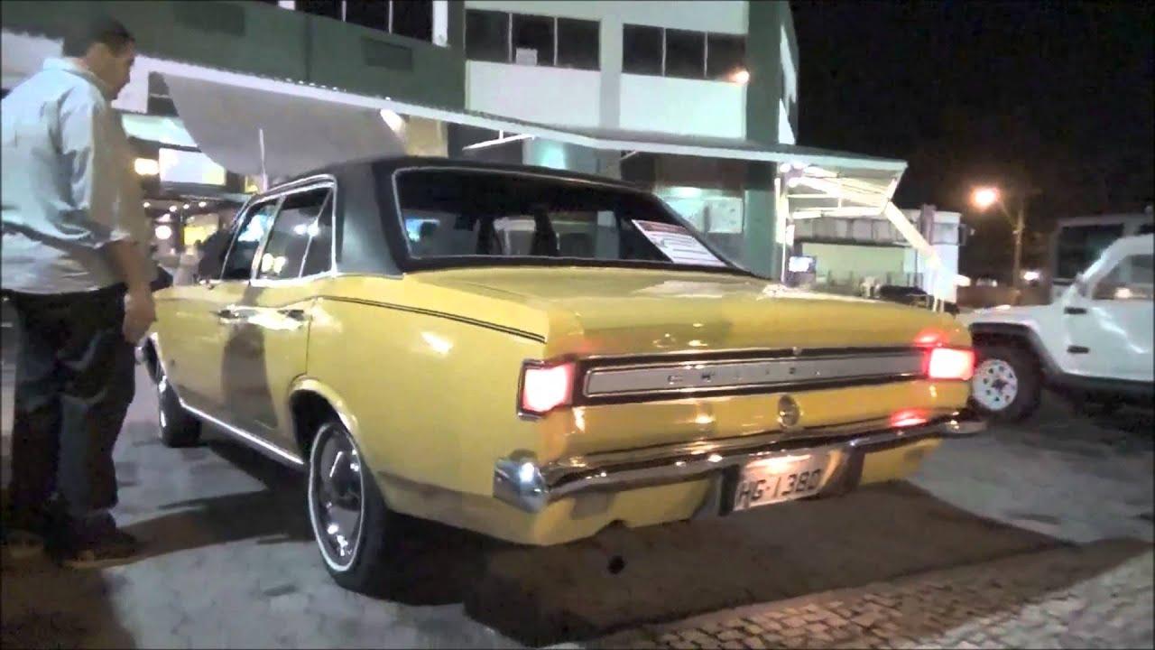 Chevrolet Opala Sedan S Chegando Estacionando E Acelerando