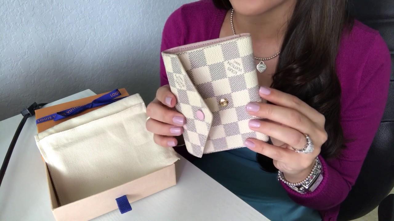cb1795abbe13 Louis Vuitton Victorine Wallet - YouTube