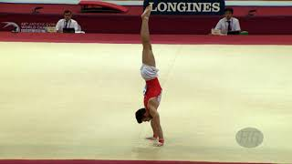 HEGI Oliver (SUI) - 2018 Artistic Worlds, Doha (QAT) - Qualifications Floor Exercise
