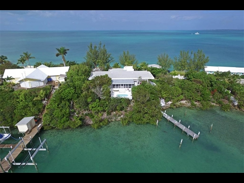 Blue Dolphin - Abaco Bahamas Waterfront Home for Sale