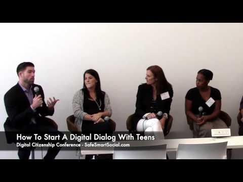 Start a digital dialog with teens