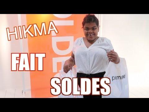 depenser 100 pour les soldes d 39 hikma chez pimkie h m et camaieu youtube. Black Bedroom Furniture Sets. Home Design Ideas