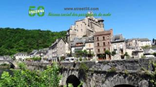 Roadbook moto Aveyron : Les Gorges du Lot