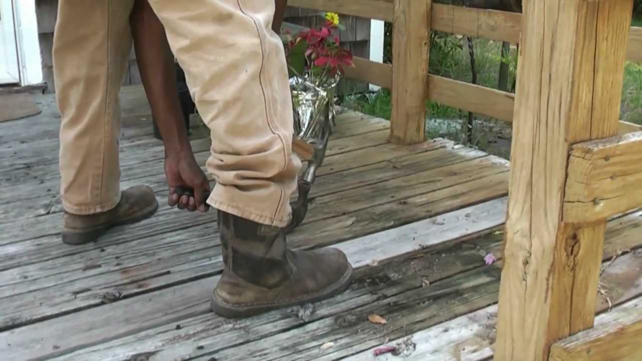 How to replace boards on a deck with bobby the builder youtube baanklon Images