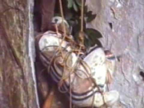 Igorot cave burial, Philippines
