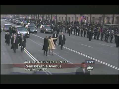 Obama's Presidential Walk to The White House