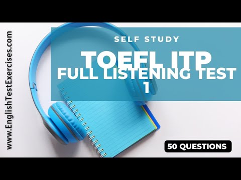 Full Toefl ITP/PBT Listening Test