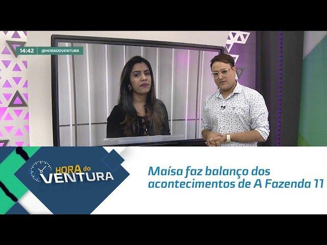 """Maísa faz balanço dos acontecimentos de """"A Fazenda 11"""" - Bloco 02"""