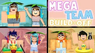 MEGA TEAM Summer Build-Off! DaPandaGirl 2 v.s 2 v.s 2