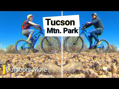 Tucson Mountain Park: Mountain Biking on Tons of Trails