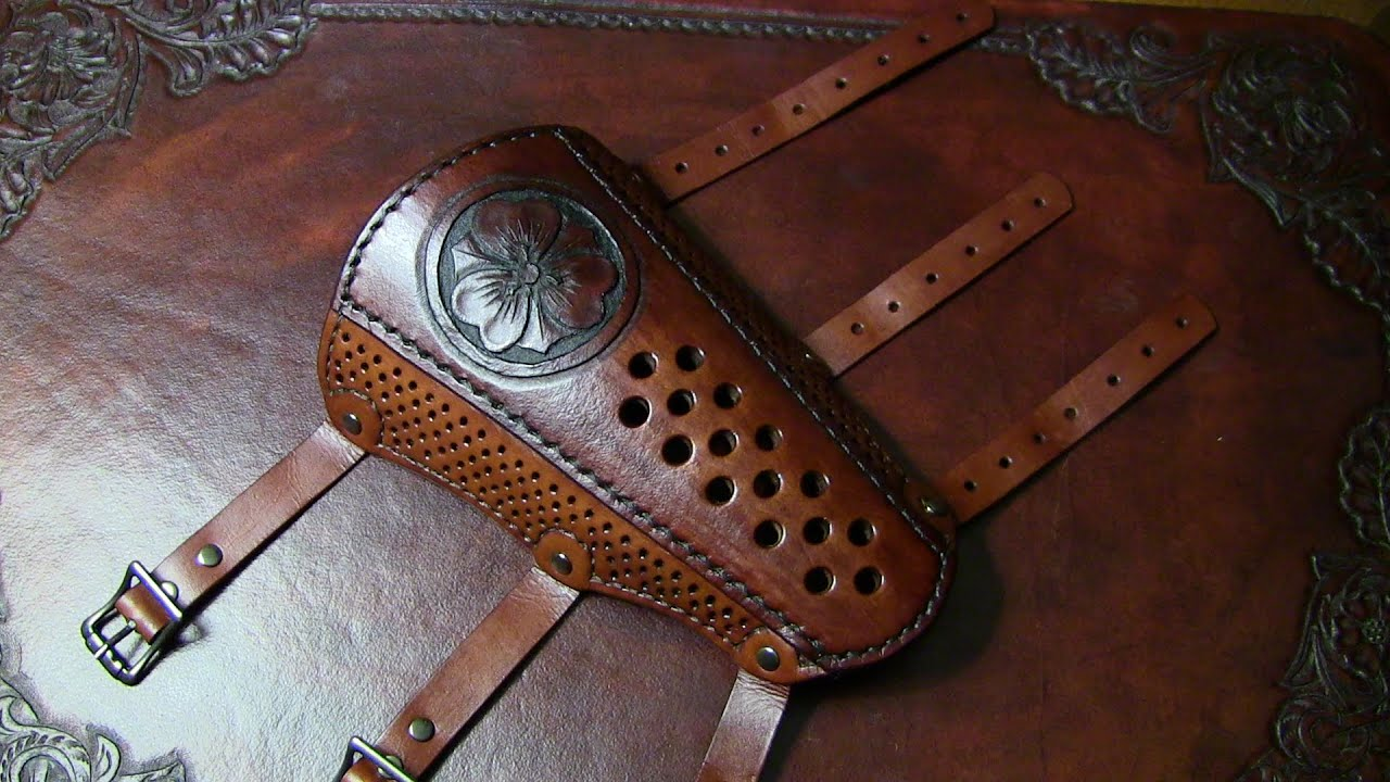 Leather Arm Protectors Archery