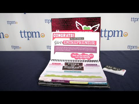 It's My Biz Girl Entrepreneur Ultimate Business Guide Kit from Fashion Angels
