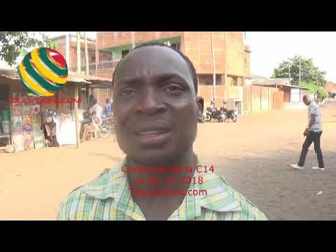 TOGO/La caravane de la C14 à Lomé: Un manifestant exprime sa motivation