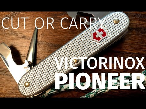 Cut or Carry:  Victorinox Alox Pioneer Review