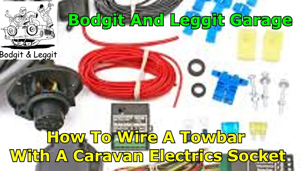 how to wire a caravan socket electrics using a special relay box part 3 bodgit and leggit garage [ 1280 x 720 Pixel ]