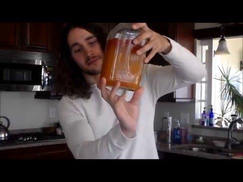 How To Make Honey Wine - Full Of Beneficial Living Probiotics!
