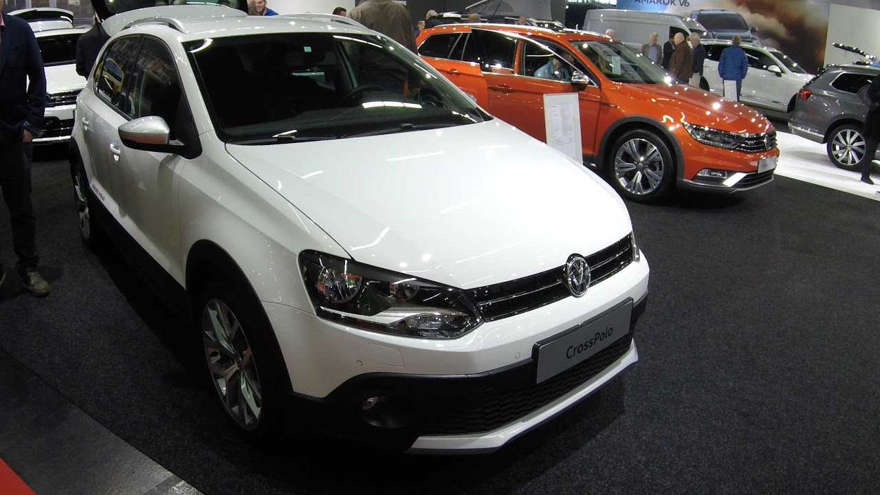 vw volkswagen cross polo v 6c pure white colour. Black Bedroom Furniture Sets. Home Design Ideas
