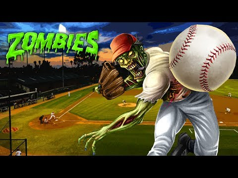 LET'S PLAY ZOMBIE BALL! (Black Ops 3 Zombies)(Baseball Field Remastered)