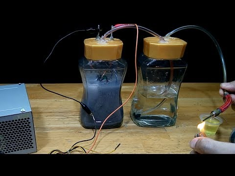 Easy Homemade Hydrogen Generator
