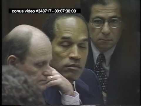 OJ Simpson Trial - September 28th, 1995 - Part 1