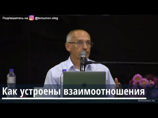 Торсунов О.Г.  Как устроены взаимоотношения