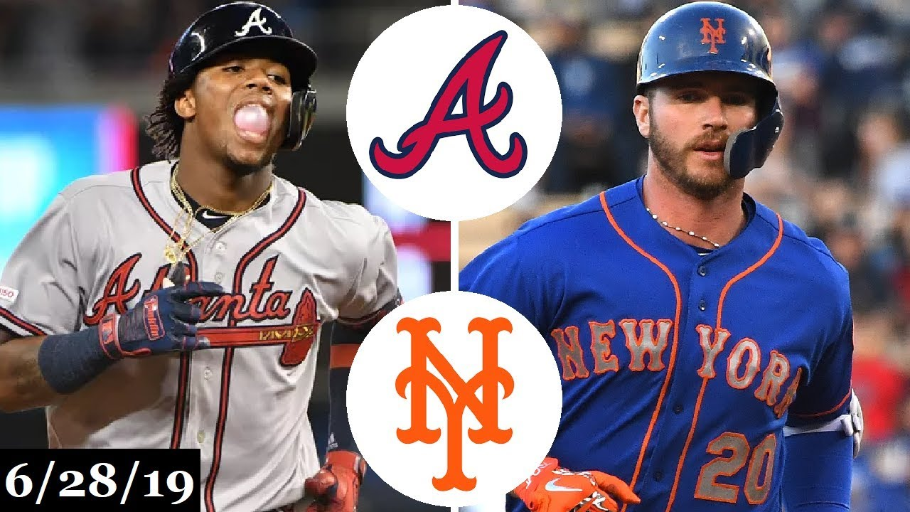 Atlanta Braves Vs New York Mets Full Game Highlights