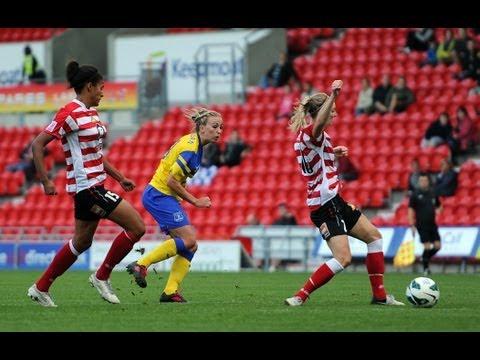 Doncaster Belles vs Everton 1-1, FAWSL Goals & Highlights
