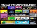The LEGO® Movie Display at Warner Bros. Studio Tour Hollywood in Burbank California