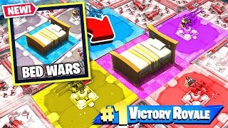 BEDWARS *NEW* Protect the BED Gamemode in Fortnite Battle Royale