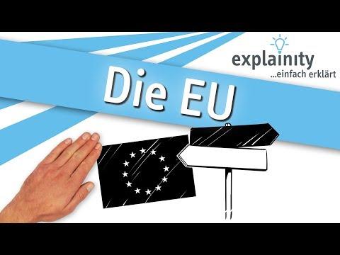 Die Europäische Union einfach erklärt (explainity® Erklärvideo)