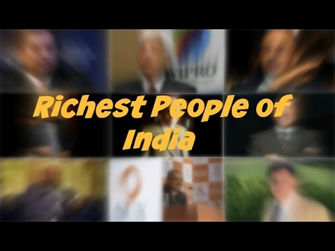 Top 10 Richest People of India - 2016